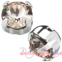 Swarovski 53200 Chaton Montees, pp31, Light Silk (10 шт.)