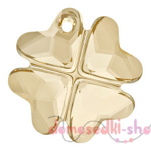 Swarovski  Clover 6764 19 мм Golden Shadow
