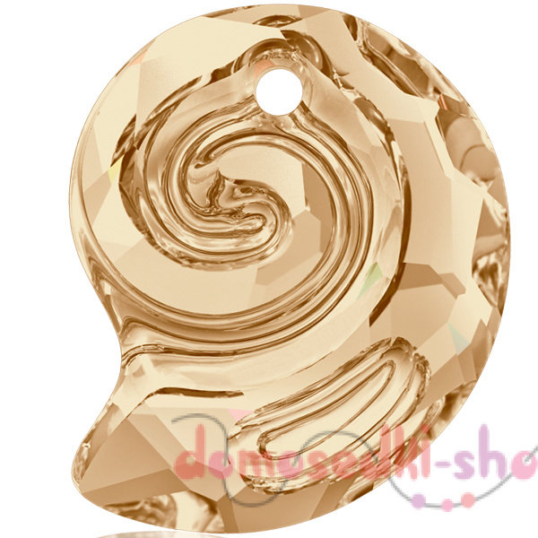 Swarovski  Sea Snail 6731 14 мм Golden Shadow