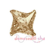 Swarovski Twister Fancy Stone 4485 10,5 мм Crystal Golden Shadow