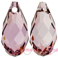 Swarovski 6010 11 мм Briolette, Antique Pink