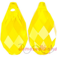 Swarovski 6010 11 мм Briolette, Yellow Opal